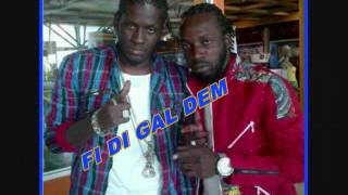 Mavado ft Aidonia - Caribbean Girls - August 2012 - Dj Notnice - WHO YOU SEH? @Youngnotnice