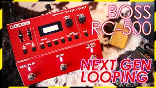 BOSS RC-500 LOOP STATION (Review and Demo)