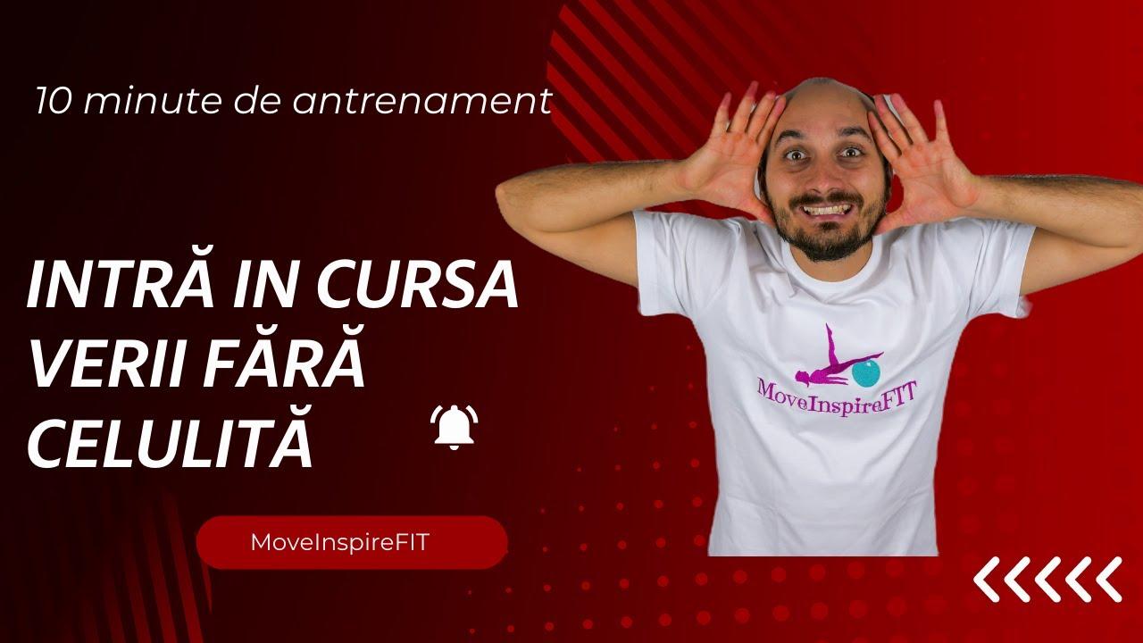 Exerciții fizice pentru pielea lăsată și celulită // MoveInspireFIT // Ziua 7