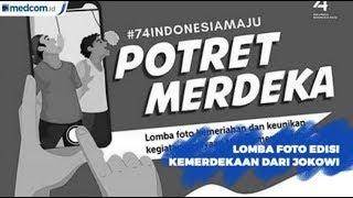 Hadiahkan Sepeda, Jokowi Ajak Lomba Foto Edisi Hari Kemerdekaan