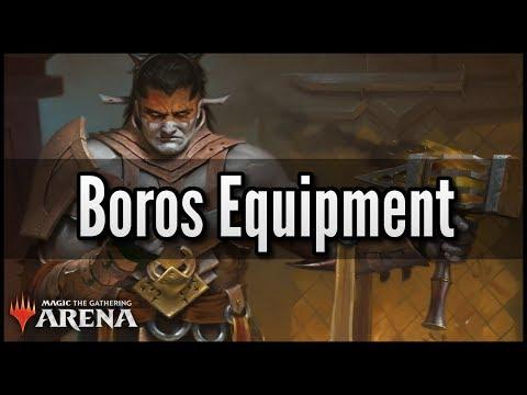 MTG Arena - Budget Boros Equipment (Zero-Rare R/W Deck)