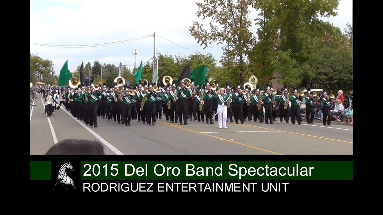 10-17-15 RHSEU at Del Oro HS Band Spectacular in Loomis, CA