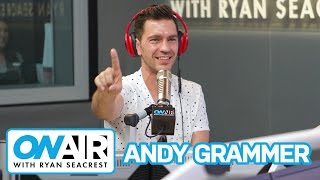 Andy Grammer Announces He's On DWTS | On Air with Ryan Seacrest
