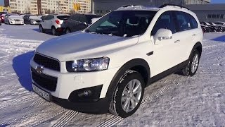 2014 Chevrolet Captiva LT+. Start Up, Engine, and In Depth Tour.