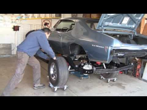 LS Conversion Swap Part 26, Body Back on Frame