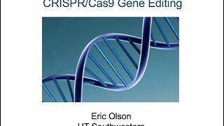 [Webinar] What is CRISPR/Cas9? - July 2016