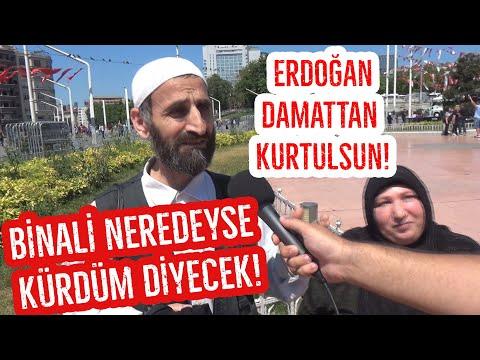 Gezi Parkında Sorduk Vatandaş Erdoğan'ı Uyardı! Binali Yıldırım Neredeyse Kürdüm Diyecek!