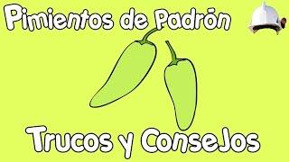 PIMIENTOS DE PADRÓN | Trucos y consejos.