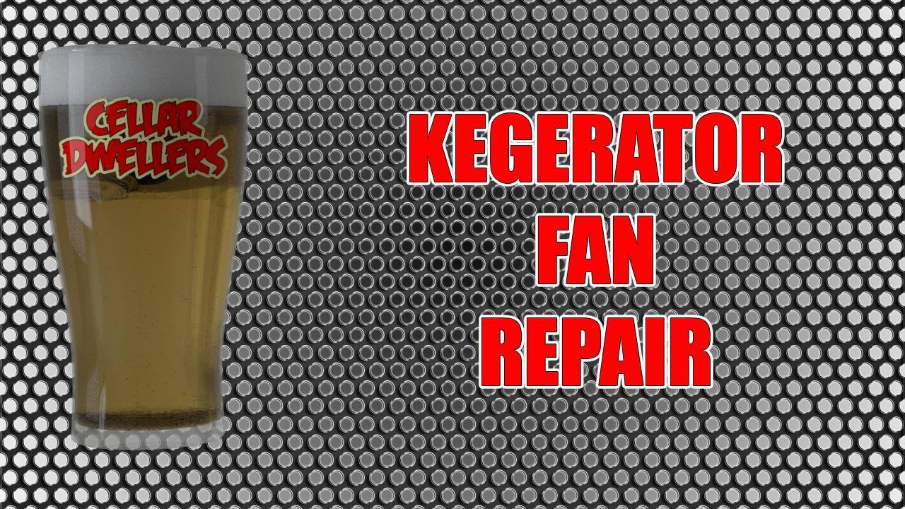 kegerator noise repair noisy fridge fan youtube