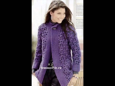 crochet cardigan| free |crochet patterns|419 - YouTube
