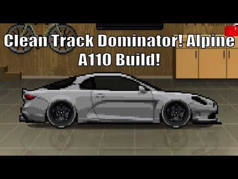 Clean Track Dominator Alpine A110 Build In Pixel Car Racer Youtube
