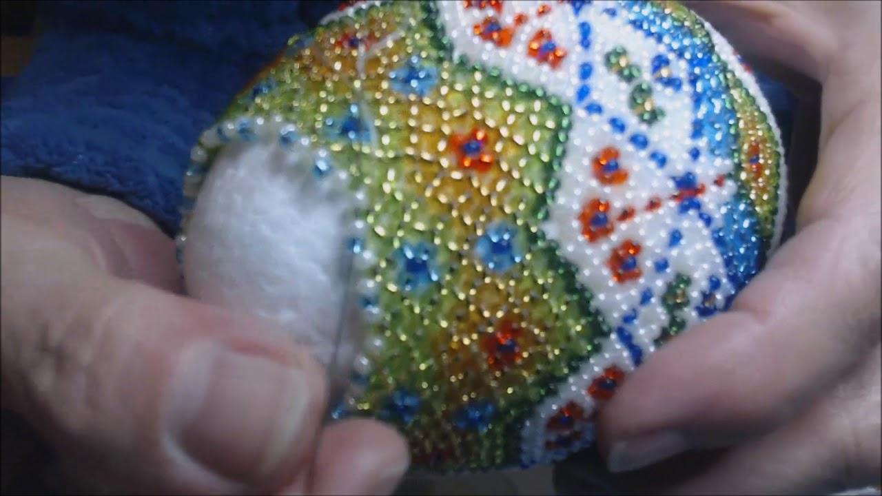 Ogromnie Jajko wielkanocne z koralikow czesc 2 - YouTube AV03