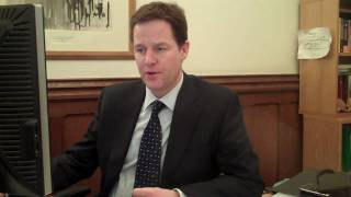Nick Clegg Answers Questions from Reddit.com