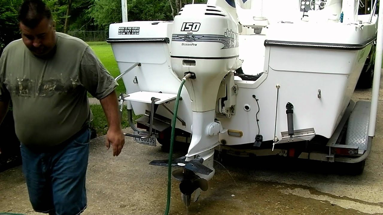 How To Hook Up Yamaha Outboard Motor