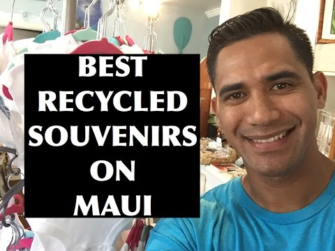 The best recycled and repurpose souvenirs on Maui | Binky's Boutique Shop