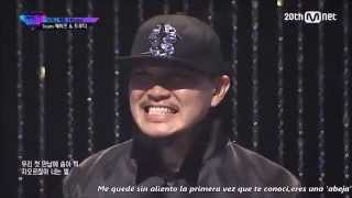 |Sub Español | [ Unpretty Rapstar Vol. 2] Truedy & Heize TeamWork Battle EP. 8
