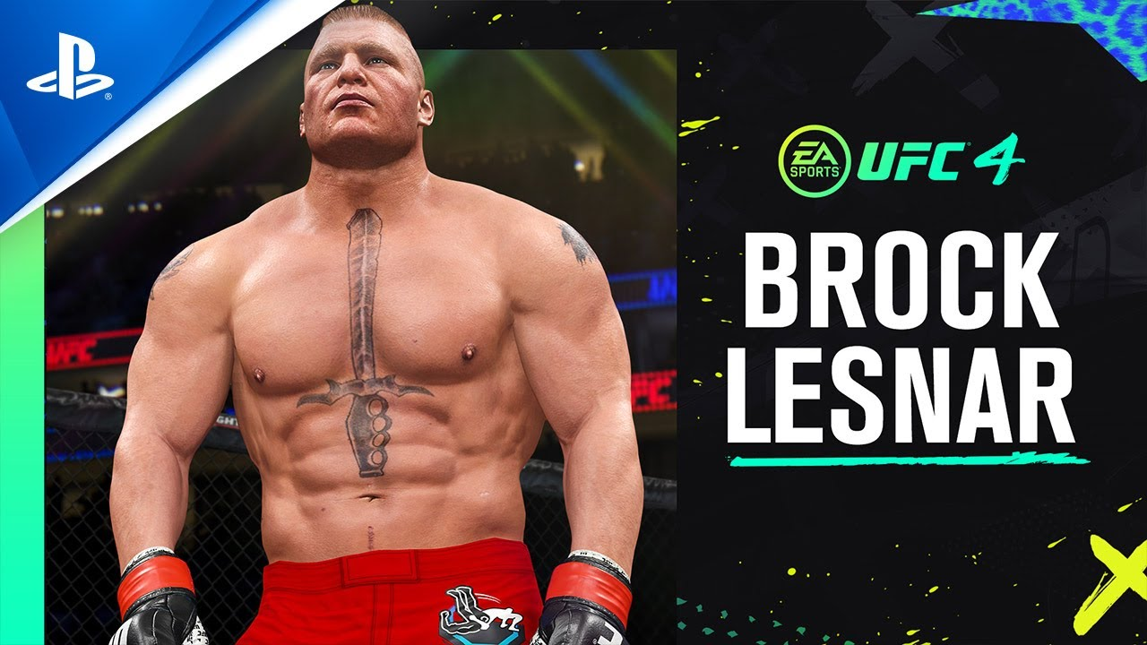 Ea Sports Ufc 4 Brock Lesnar Reveal Trailer Ps4 Youtube