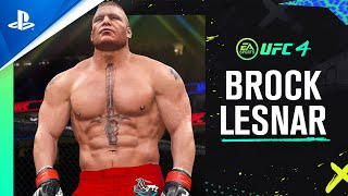 EA Sports UFC 4 - Brock Lesnar Reveal Trailer | PS4