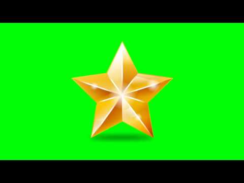 Star Animated - Green Screen Footage Free Download