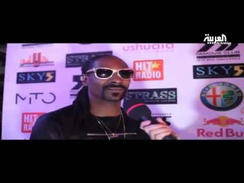 Simobb on Alarabiya News interview # 26 : Snoop Dogg