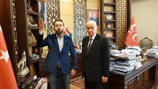 MHP Genel Başkanım Dr. Devlet Bahçeli Türkmenbeyim