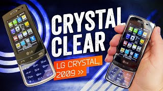 When Phones Were Fun: LG Crystal (2009)