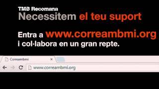 Espot de Correambmi a MouTV de TMB