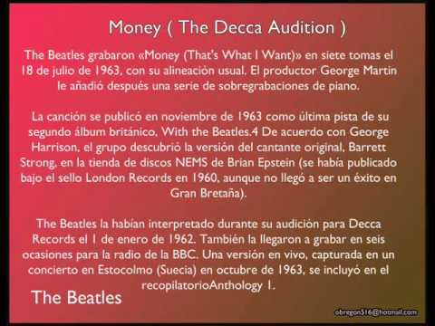 The Beatles Money Decca Audition