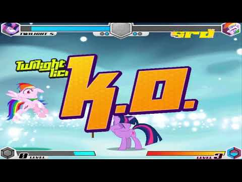 Fighting Is Magic - Twilight Sparkle VS Super Rainbow Dash #4/7