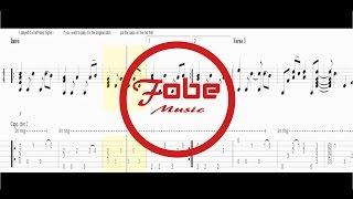 Coldplay - Paradise / Guitar Tab Acoustic