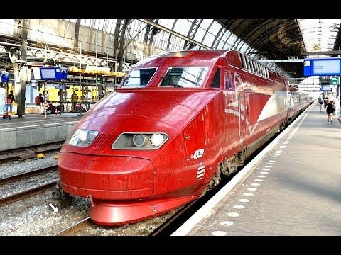 Amsterdam Centraal Station - Die Züge