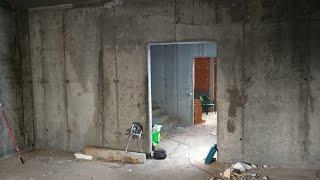 Строительство  4 этажа Начало П - хаус