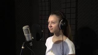 Запись песни в студии.  Софья Мансурова - Нас бьют, мы летаем (Cover)