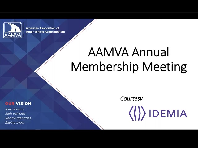 2020 Annual Membership Meeting