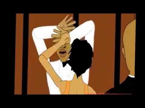 Jay z and solange cartoon spoof (@7sworld)