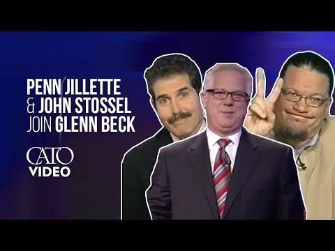 Penn Jillette Discusses Health Care On FOX's Glenn Beck