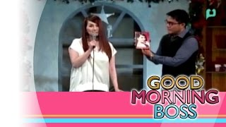 [Good Morning Boss] Panayama kay Michelle Ortega - Performer [12|18|15]