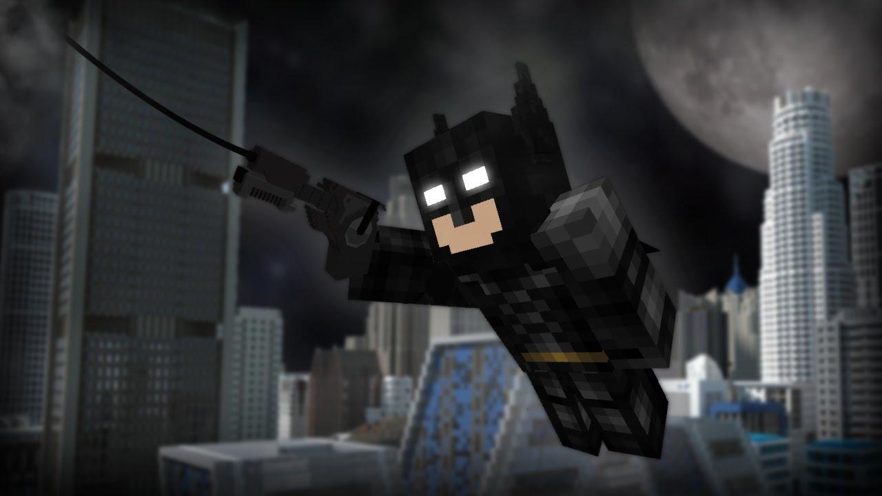 Batman in Vanilla Minecraft [1.10.2 Command] - YouTube