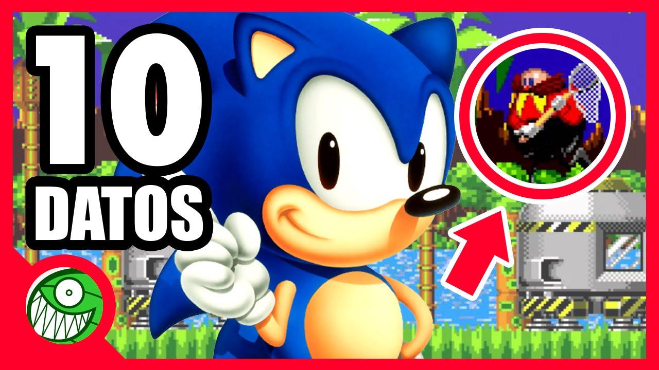 10 Curiosidades De Sonic Youtube