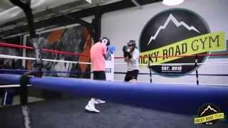 Rocky Road GYM: тренировка по боксу в группе