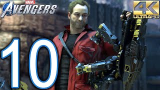 Marvel's AVENGERS PC 4K Walkthrough - Part 10 - Agony and the Ant Hill