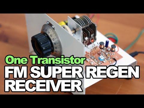 One Transistor FM Super Regen Receiver - One Transistor FM Radio