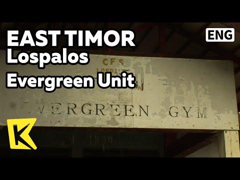 【K】EastTimor Travel-Lospalos[동티모르 여행-로스팔로스]상록수 부대의 흔적/Evergreen Unit/Rua Maluk Korea/Lospalos