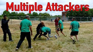 How to defend multiple attackers