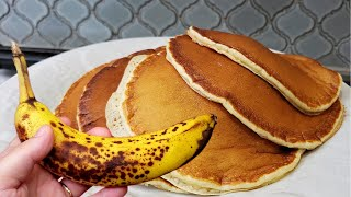 BANANA PANCAKES | How To Make Banana Pancakes | Fluffy Banana Pancakes Recipe