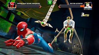 Marvel Contest of Champions: Spider man (Stark Enhanced) Vs Doctor Octopus