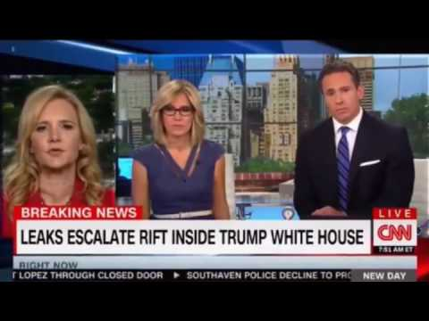 Scaramucci calling into CNN to set the Record Straight Panel discussion Cuomo