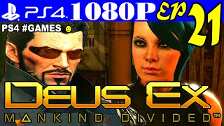 Прохождение DEUS EX: MANKIND DIVIDED ► Часть 21 на #PS4 — SOS . SOS . SOS
