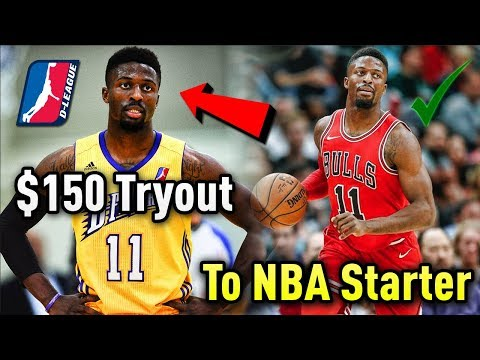 From a $150 TRYOUT To NBA STARTER Within A YEAR? The David Nwaba Story