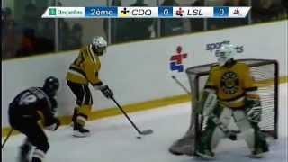Jeux du Québec 2015 - Hockey masculin - Finale Or -  CDQ vs L…